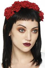 SALE Lilian Rose Headband - Red