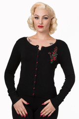 Anchor and Roses Cardigan