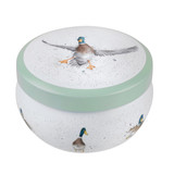 Royal Worcester Wrendale Tinned Candle with Duck in Flight Design