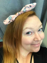 Flamingo Hairband - Pink