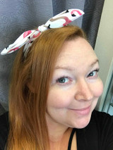 Flamingo Hairband - white