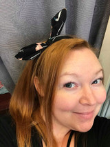 Flamingo Hairband - Black