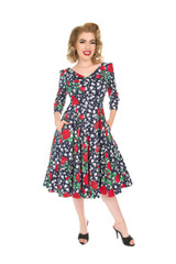 SALE Vintage Style Dress - Sierra
