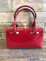 Red Patent Handbag