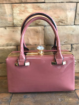 Patent mulberry Pink Handbag