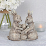 Bunny Family Hugs Ornament