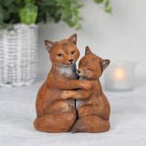 Fox Couple Ornament