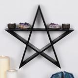 Pentagram Wall Shelf