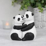 Panda Couple Ornament
