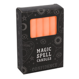 Spell Candles - Orange Candles For Confidence