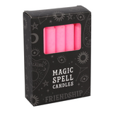 Spell Candles - Pink Candles For Friendship