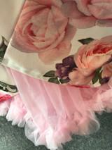 "50s Vintage Rock n Roll Rockabilly Petticoat Skirt 26"" Baby Pink"