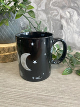 Black and White Triple Moon Mug