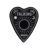 Black and White Talking Board Planchette Candle Holder