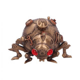 Bronze Effect Steam Punk Ladybird Bug with Gauges, Pipes and Gears