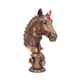 Bronze Effect Steam Punk Equus Machina Horse with Gauges, Pipes and Gears