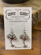 Handmade Novelty Earrings - Neuron Cell