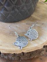 Handmade Novelty Earrings - Hedgehogs