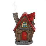THE WILLOWS FAIRY HOUSE INCENSE CONE BURNER BY LISA PARKER