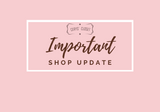 Change of Hours for Cerys' Closet Shop