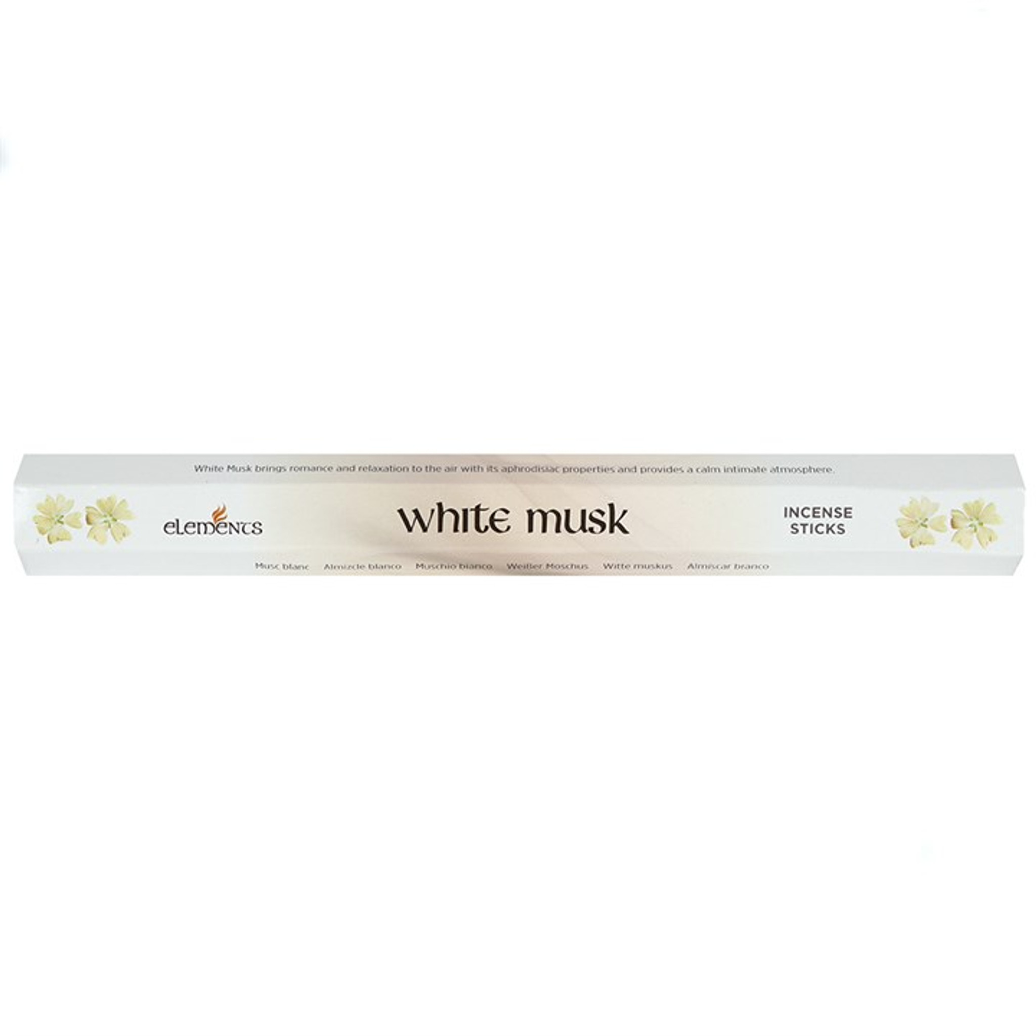 20 X White Musk Incense Sticks For Home Fragrance Cerys Closet