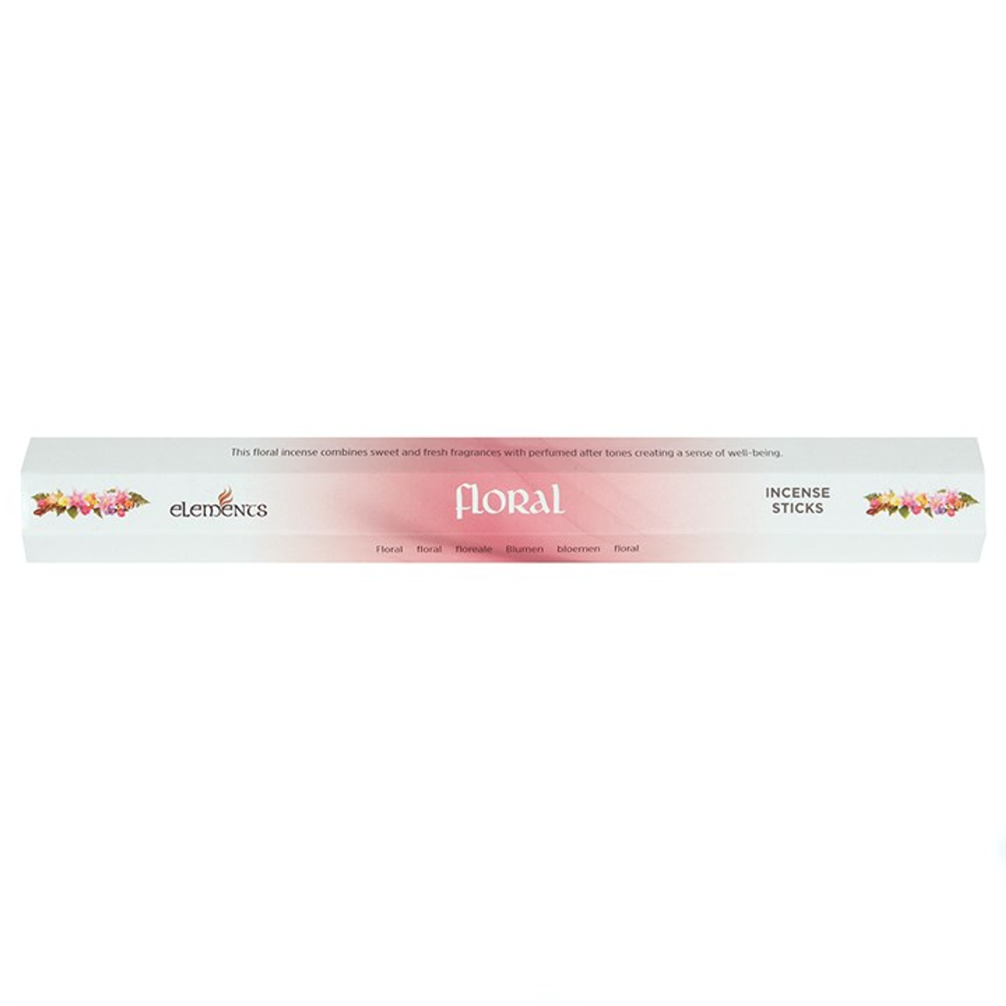 20 X Floral Incense Sticks For Home Fragrance Cerys Closet