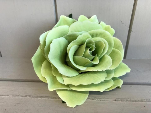 Pin Up Hair Roses - Green