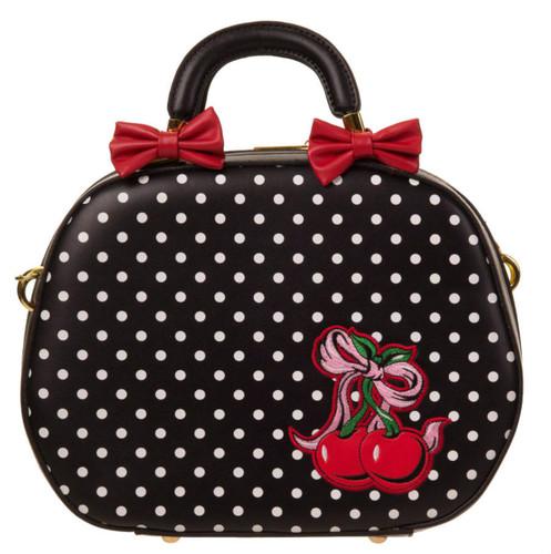 Lucielle 50s Oval Cherry Handbag