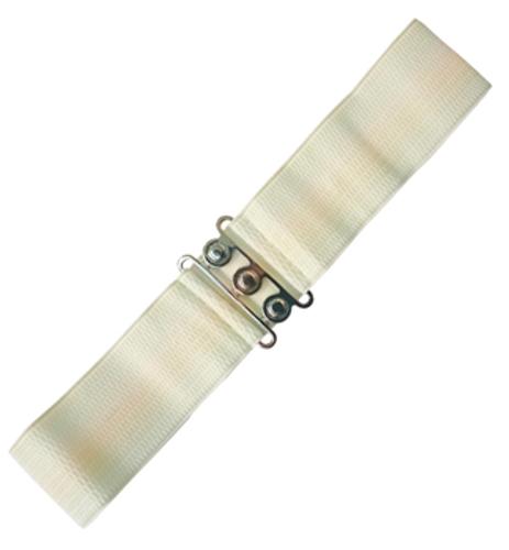 Vintage Stretch Belt - Off White