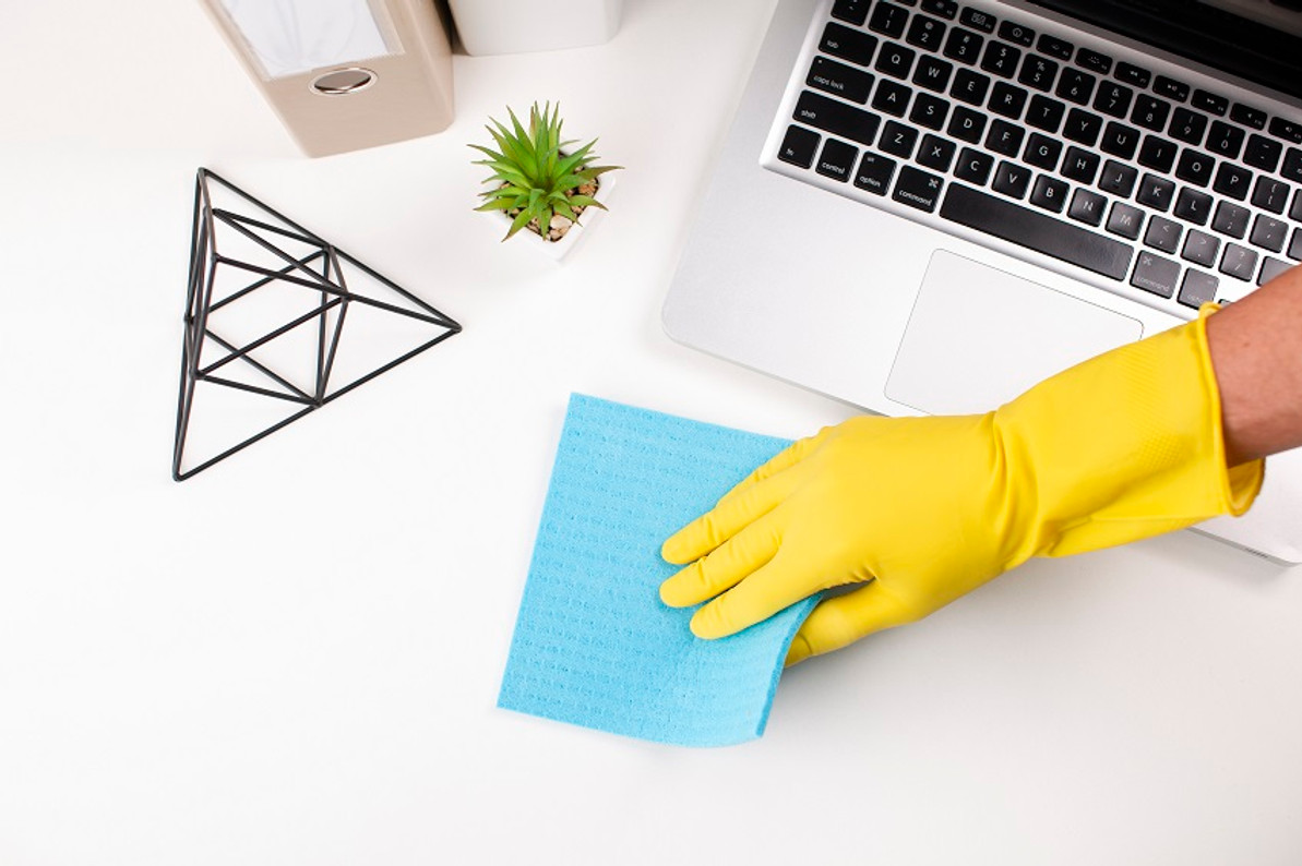 how to disinfect printer and scanner for the corona virus?