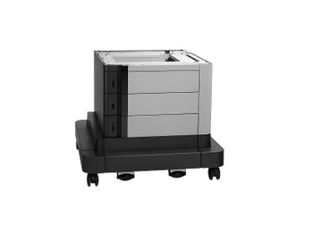 HP 2x500/1x1500-sheet Paper Feeder and Stand (CZ263A)