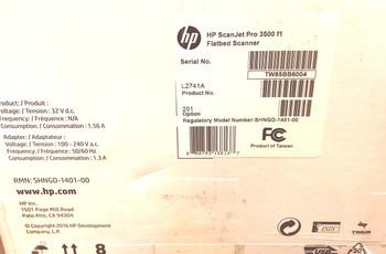 HP ScanJet Pro 3500 f1 Flatbed Scanner L2741A