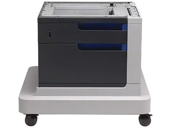 HP Color LaserJet 500-sheet Paper Feeder and Cabinet (CC422A)