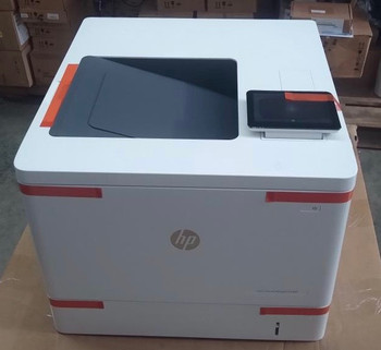 3GX98A-HP Color Laserjet Managed E55040dw - Printer is Like-new open box. Less than 40 page count with 100% toner.  In excellent working condition.