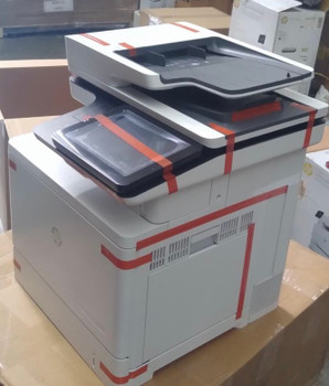B5L48A-HP Color LaserJet Enterprise Flow MFP M577z- Used-like new printer. Item is in excellent working condition. Toner B-90% C-90% M-90% Y-80%.Less than 1,700 page count.