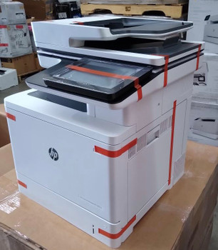 B5L49A-HP LaserJet Managed MFP M577dnm-Like new printer. Less than 500 page count. Toner - B-100% C-100% M-100% Y-100%. Item is in excellent working condition