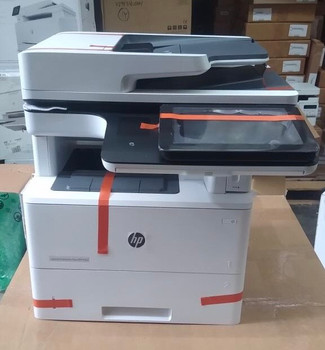 F2A76A-HP LaserJet Enterprise MFP M527dn-Used like new printer with 100% toner. Printer is in original box complete with accessories. Item is in excellent working condition. Less than 52,000 page coun