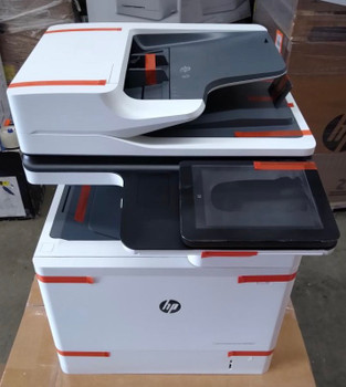 J8J64A HP LASERJET ENT FLOW MFP M631H Printer is Used like new in excellent working condition. Toner 70% page count less than 3,900