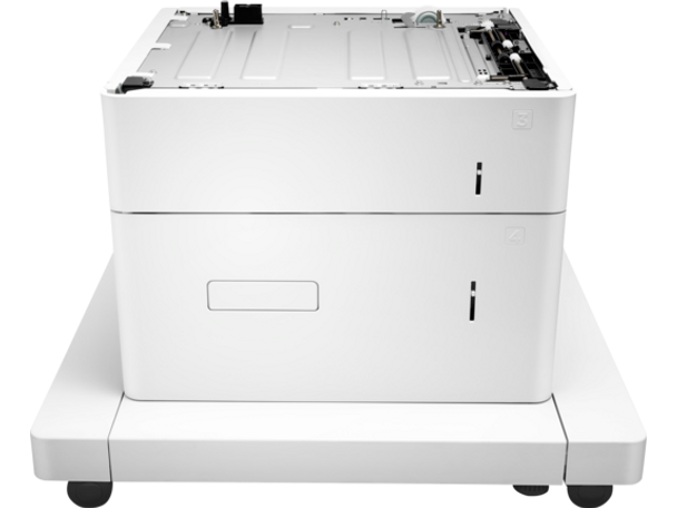 HP LaserJet 1x550-sheet and 2000-sheet HCI Feeder and Stand (J8J92A)