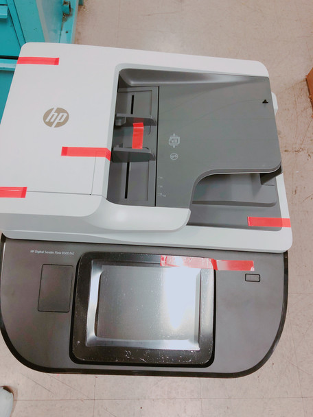 L2762A#BGJ HP Digital Sender Flow 8500 fn2 .  OPEN BOX; USED LIKE NEW; LESS THAN 100 PAGE COUNT; ORIGINAL PACKING;