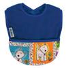 Royal Dog Fleece Pocket Bib