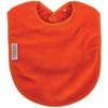 Orange Fleece Large Bib