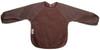 Chocolate Fleece Long Sleeve Bib
