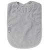 Silver XL Towel Bib