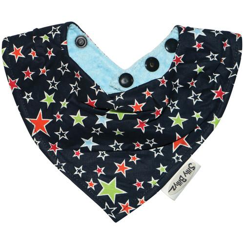 Stars Sky Blue Design Bandana