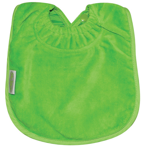 Lime Towel Large Bib