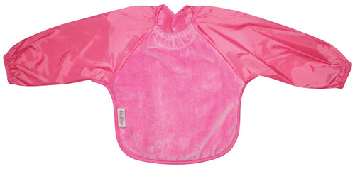 Cerise Towel Long Sleeve Bib