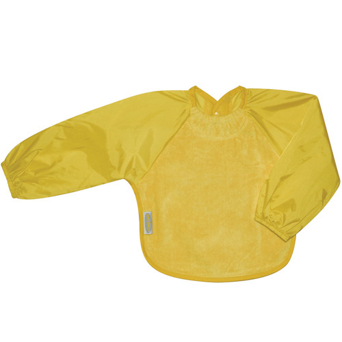 Yellow Towel Long Sleeve Bib