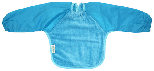 Aqua Towel Long Sleeve Bib