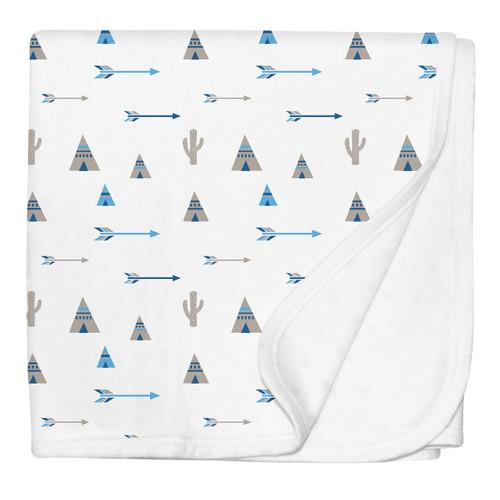 Tee Pee Stroller Blanket